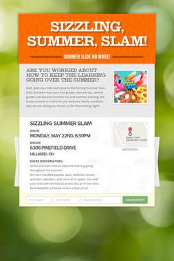 Sizzling, Summer, Slam!