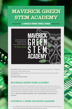 Maverick Green STEM Academy
