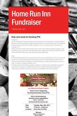 Home Run Inn Fundraiser