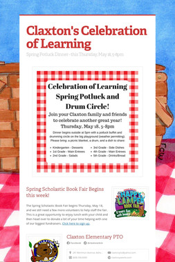 Claxton's Celebration of Learning