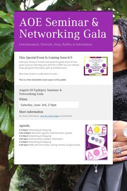 AOE Seminar & Networking Gala