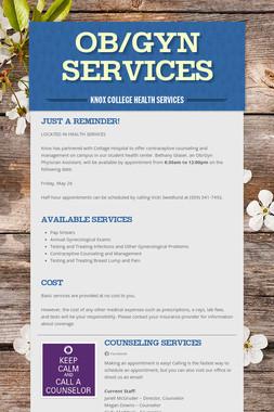 OB/GYN Services