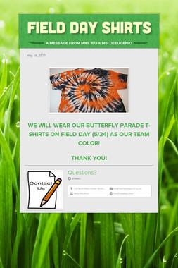 Field Day Shirts