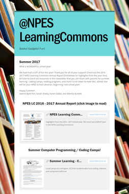 @NPES LearningCommons