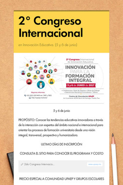 2° Congreso Internacional