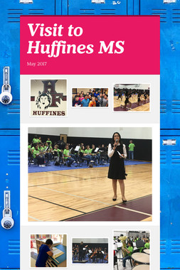 Visit to Huffines MS