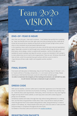 Team 2020 VISION