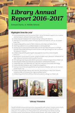 Library Annual Report 2016-2017