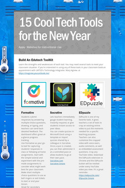 15 Cool Tech Tools for the New Year
