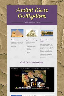 Ancient River Civilizations