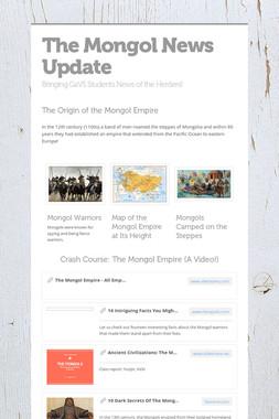 The Mongol News Update