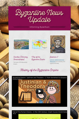 Byzantine News Update