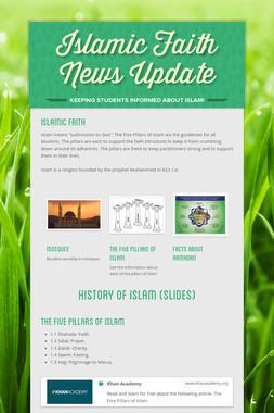 Islamic Faith News Update