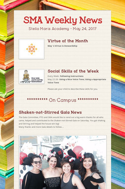 SMA Weekly News