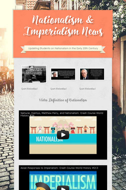 Nationalism & Imperialism News