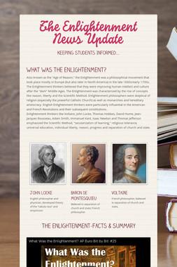 The Enlightenment News Update