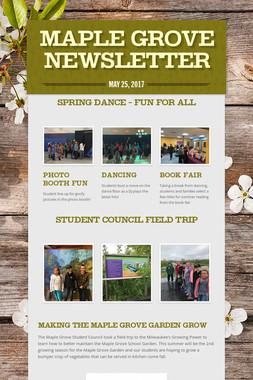 Maple Grove Newsletter