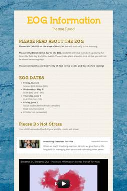 EOG Information