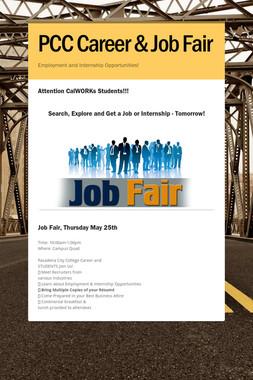 PCC Career & Job Fair