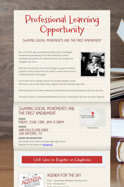 Professional Learning Opportunity
