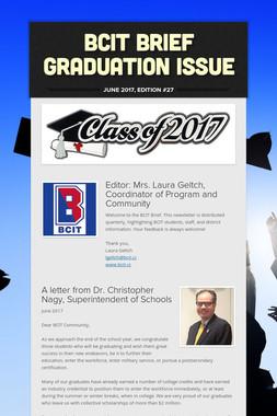 BCIT Brief  Graduation Issue