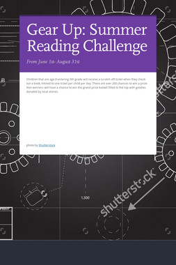 Gear Up: Summer Reading Challenge