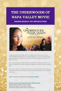 The Underwoods of Napa Valley Movie