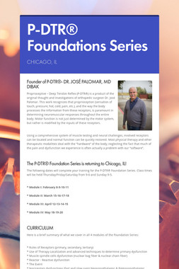 P-DTR® Foundations Series