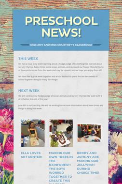 Preschool News!