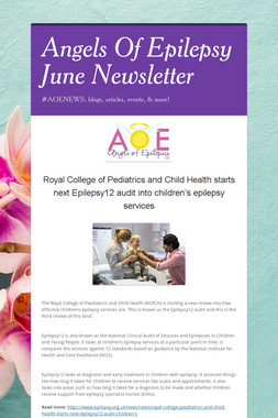 Angels Of Epilepsy June Newsletter