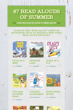87 Read Alouds of Summer