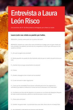 Entrevista a Laura León Risco