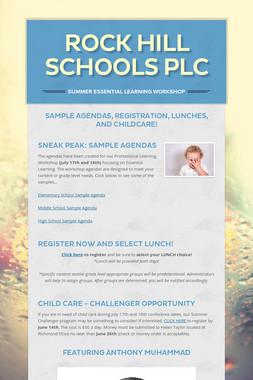 Rock Hill Schools PLC
