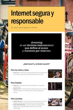 Internet segura y responsable