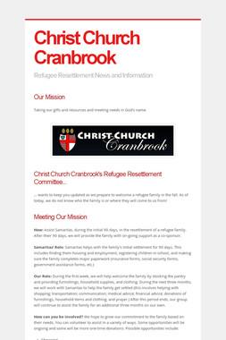 Christ Church Cranbrook