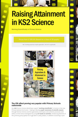 Raising Attainment in KS2 Science