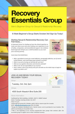 Recovery Essentials Group