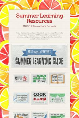 Summer Bridge Resources