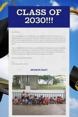 Class of 2030!!!