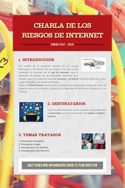 CHARLA DE LOS RIESGOS DE INTERNET