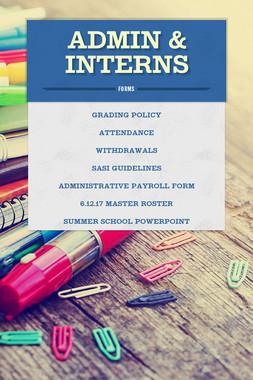 Admin & Interns