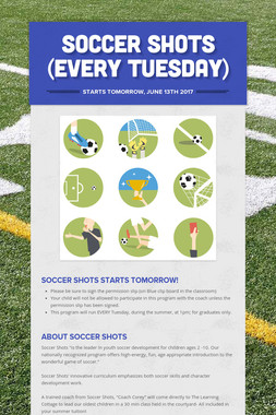 Soccer Shots (Every Tuesday)