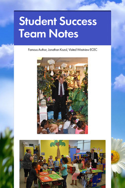 Student Success Team Notes