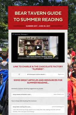 Bear Tavern Guide to Summer Reading