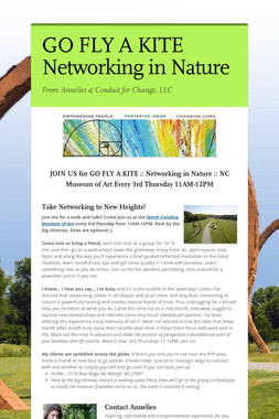 GO FLY A KITE  Networking in Nature