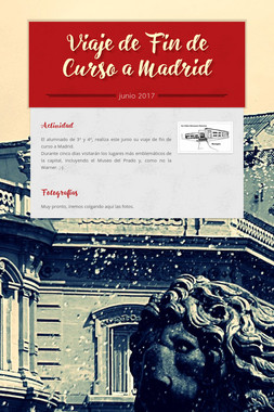Viaje de Fin de Curso a Madrid