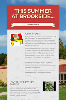 This Summer at Brookside...