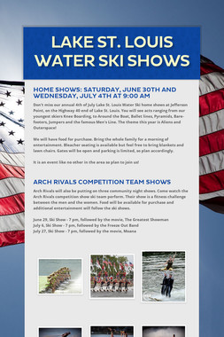 Lake St. Louis Water Ski Shows