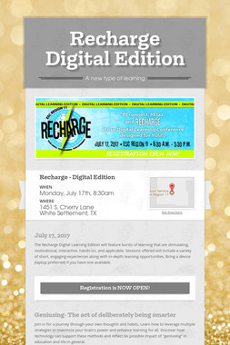 Recharge  Digital Edition