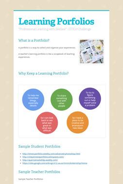 Learning Porfolios